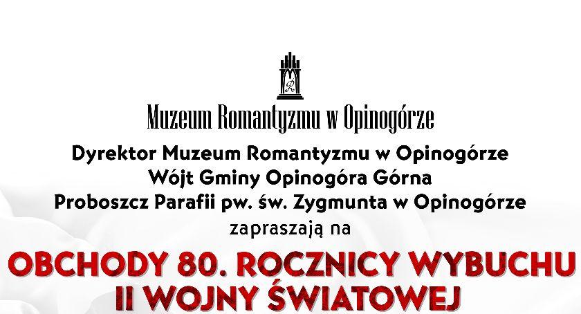 Rocznice, września Muzeum Romantyzmu Opinogórze - zdjęcie, fotografia