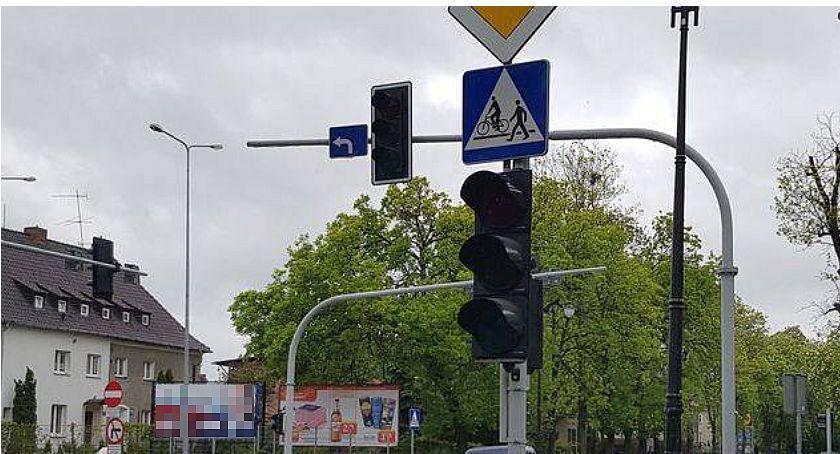 Interwencje, Wasze Kolejna awaria świateł samym skrzyżowaniu - zdjęcie, fotografia