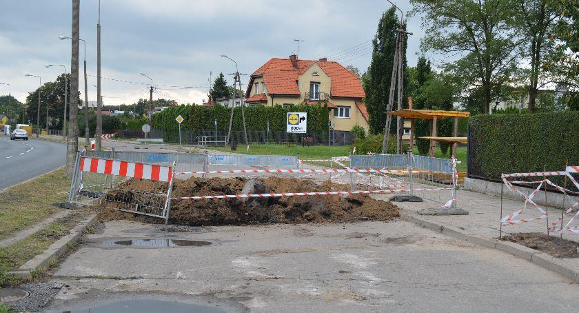 Komunikaty, Uwaga kierowcy! Duże utrudnienia ruchu Tatarskiej Ciechanowie - zdjęcie, fotografia