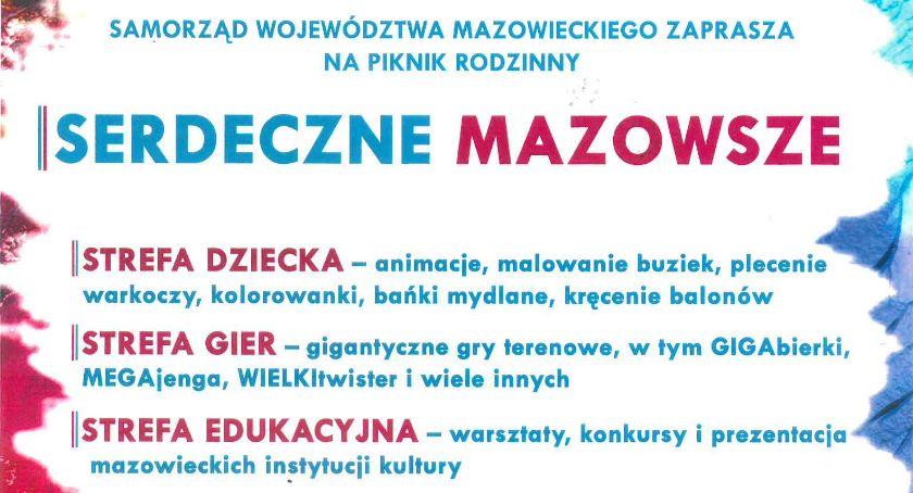 """Inne Wydarzenia, Piknik rodzinny """"Serdeczne Mazowsze"""" Ciechanowie - zdjęcie, fotografia"""
