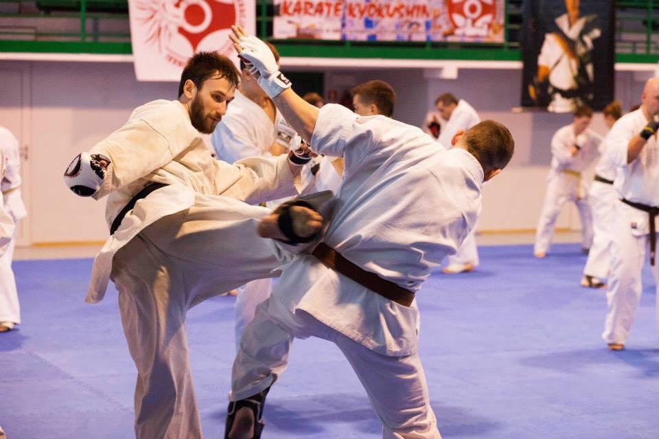Karate, Zgrupowanie Karate Kyokushin Ciechanowie (zdjęcia) - zdjęcie, fotografia