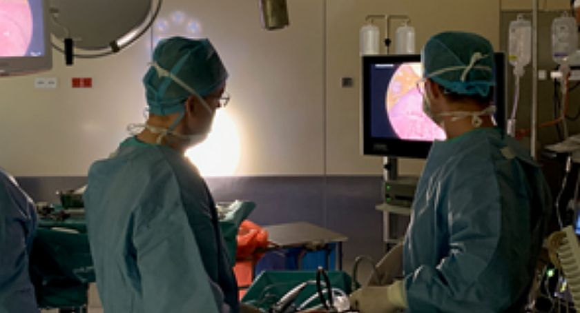 Służba Zdrowia, standard leczeniu chorych nowotwór ciechanowskim szpitalu - zdjęcie, fotografia