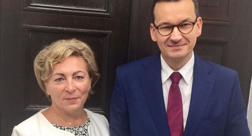 Wybory, Premier Mateusz Morawiecki Ciechanowie - zdjęcie, fotografia