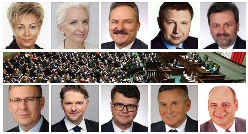 Polityka, Aktywność posłów naszego okręgu pracowali mijającej kadencji - zdjęcie, fotografia