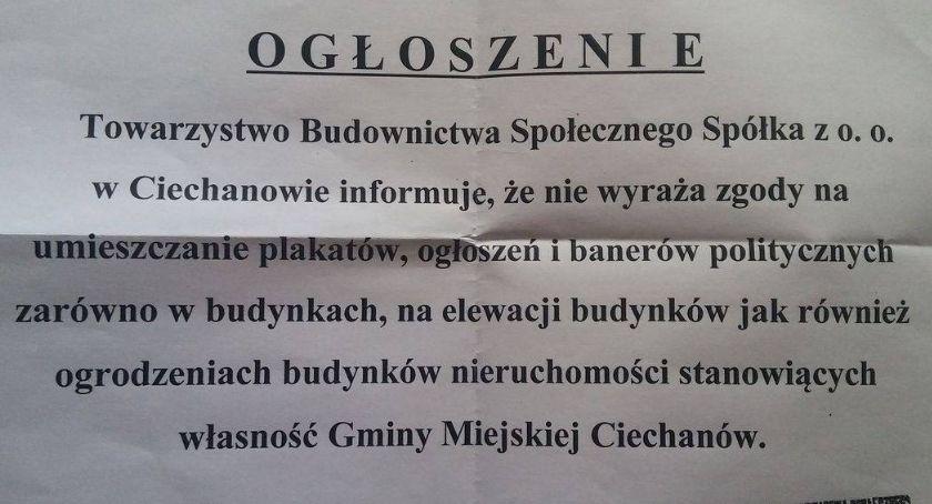 Samorząd, zakazał wieszania banerów wyborczych ratusz wyjaśnia - zdjęcie, fotografia