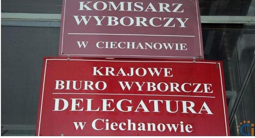 Wybory, Wybory Sejmu powiecie ciechanowskim wszystkich gminach wygrywa - zdjęcie, fotografia