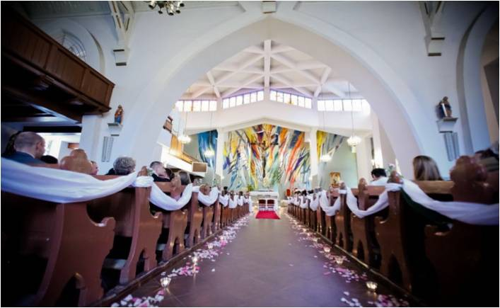 Porady ślubne Pomysły Na Dekoracje Kościoła I Sali Weselnej