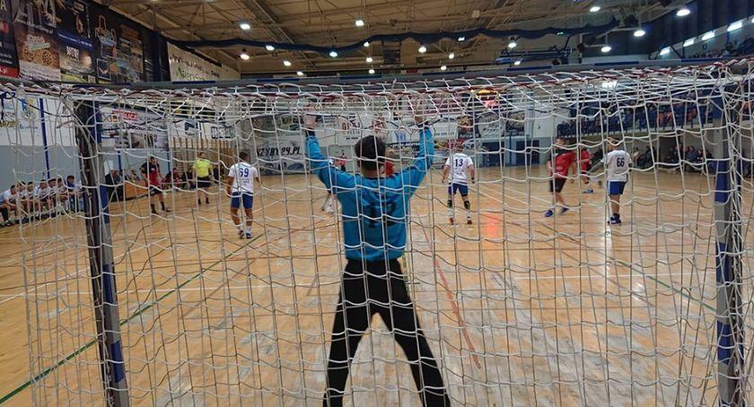 Piłka Ręczna, niemoc Juranda Beniaminek wygrał Ciechanowie - zdjęcie, fotografia