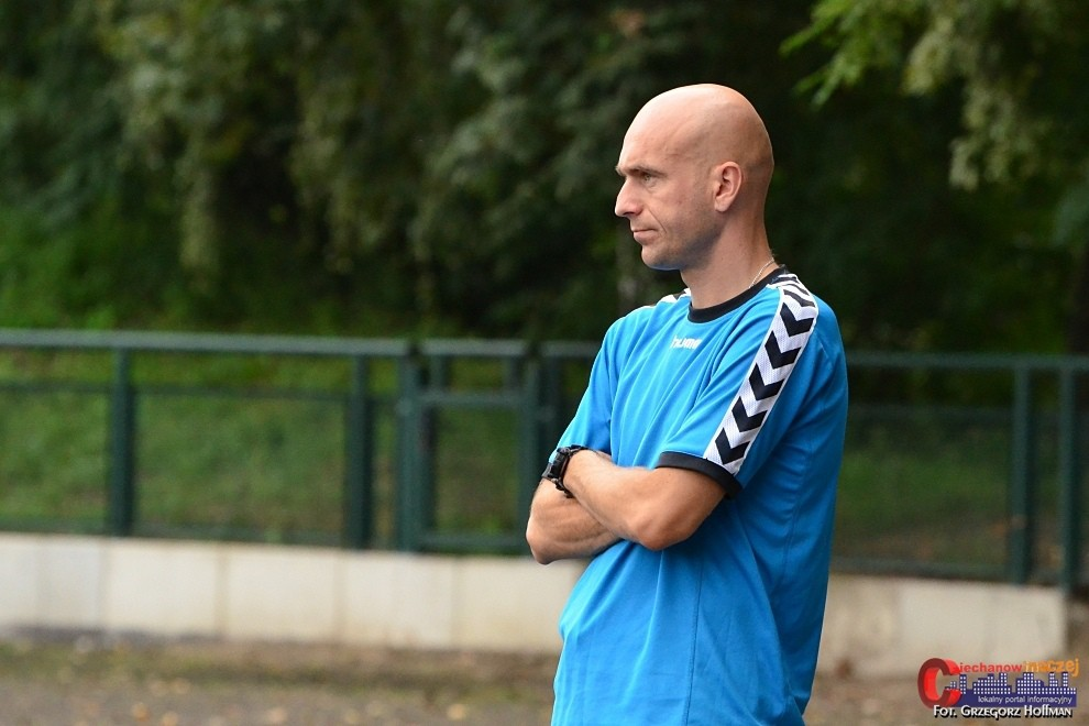 Wywiady, jeden utrzymać lidze wywiad trenerem Ciechanów - zdjęcie, fotografia