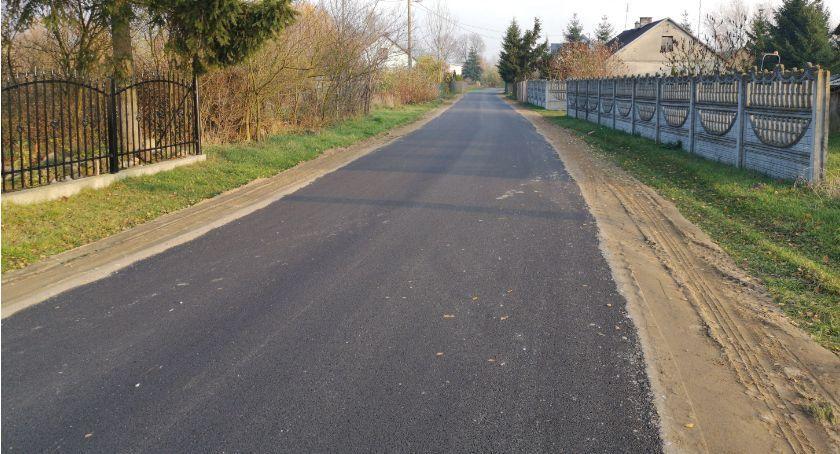 Inwestycje, Kolejne wyremontowane drogi gminie Glinojeck - zdjęcie, fotografia