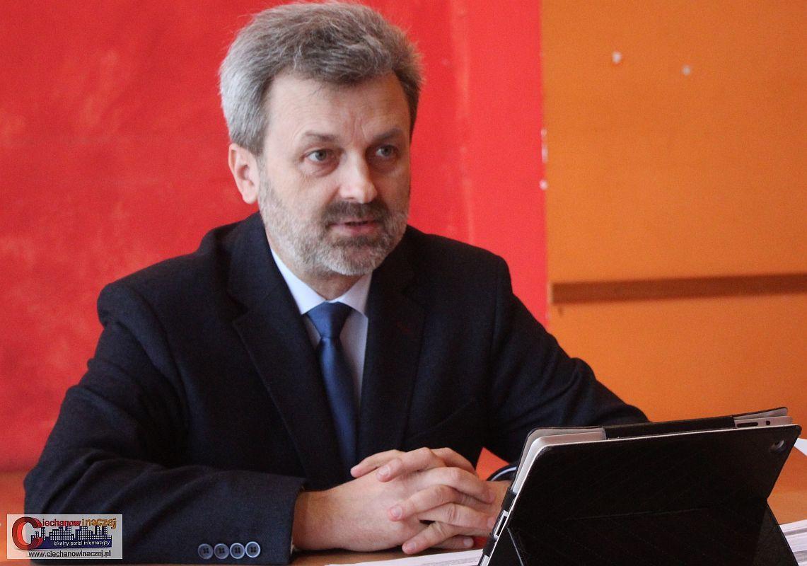 Wywiady, Pomnik smoleński Ciechanowie wywiad posłem Kołakowskim - zdjęcie, fotografia