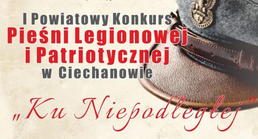 Koncerty, Niepodłegłej Powiatowy Konkurs Piosenki Legionowej Patriotycznej Ciechanowie - zdjęcie, fotografia