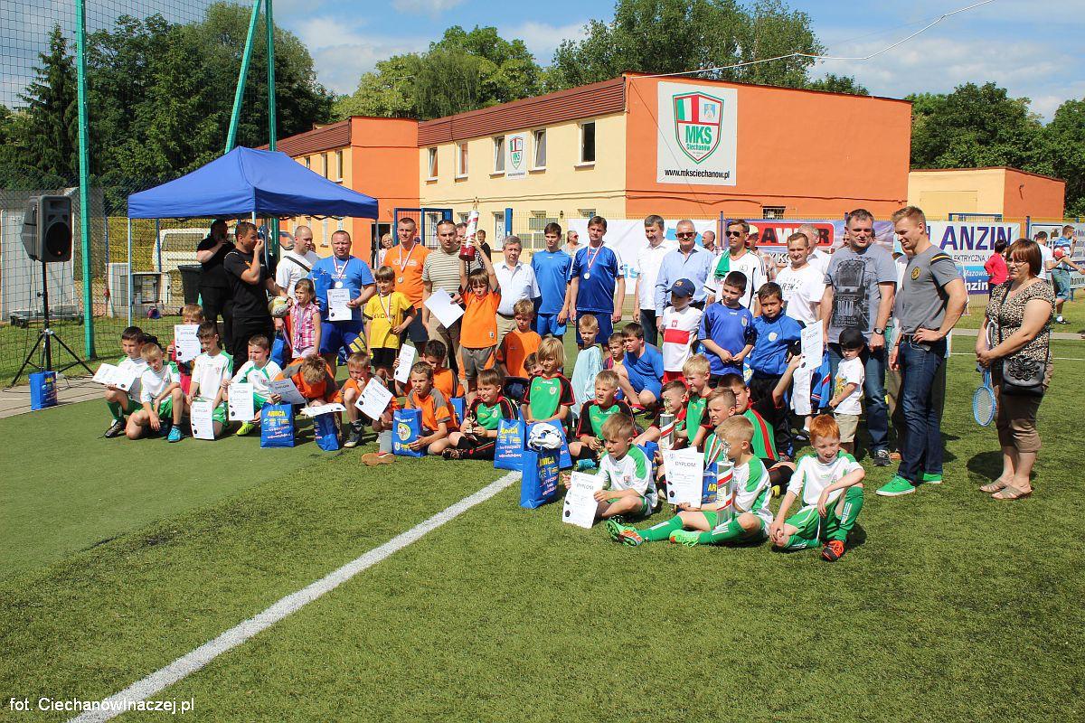 Piłka Nożna, Ciechanów zorganizował Piłkarski Piknik Rodzinny (zobacz zdjęcia) - zdjęcie, fotografia