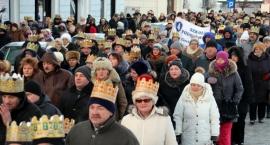 Tłumy na pierwszym Orszaku Trzech Króli w Ciechanowie (zdjęcia)