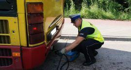 Ciechanowska drogówka kontrolowała autobusy i ciężarówki
