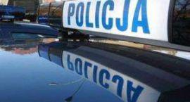 Policyjny pościg w Grzybowie