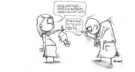 Z cyklu: Przychodzi baba do lekarza
