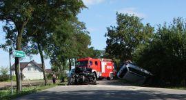 Pięć osób rannych w wypadku pod Ciechanowem (zdjęcia)