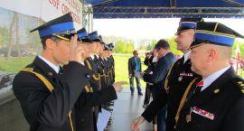 Strażacy obchodzili swoje święto. Otrzymali awanse i odznaczenia (zdjęcia)