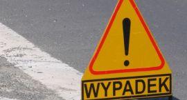 Wypadek przy Starostwie, ranna rowerzystka