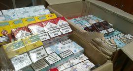 Nielegalnie przewoził ponad cztery tysiące paczek papierosów