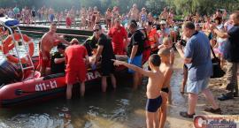 Ratownicy wodni w akcji na kąpielisku Krubin (wideo/zdjęcia)