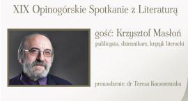 W czwartek XIX Opinogórskie Spotkanie z Literaturą