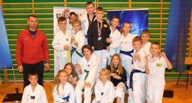 Grad medali TKKF Promyk Ciechanów w zawodach taekwondo