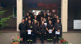 Strażacy OSP z powiatu ciechanowskiego wzięli udział w kursie dowódców (zdjęcia)