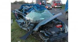 22-latka ranna po wypadku na krajowej pięćdziesiątce