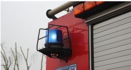 Samochód z instalacją gazową zapalił się w Ciechanowie