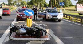 31 - letni motocyklista zginął w wypadku
