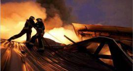 Ponad pół miliona złotych strat po pożarze w gminie Sońsk