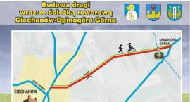 Sejmik przyznał dotację na remont drogi i budowę ścieżki rowerowej Ciechanów-Opinogóra