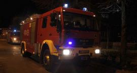 Pożar w domu przy ul. Wojska Polskiego