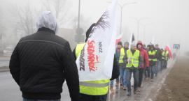 Pracownicy firmy Sofidel walczą o wyższe zarobki. Zorganizowali pikietę [wideo/zdjęcia]