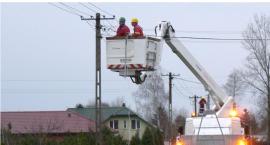 Bez prądu w dwóch gminach