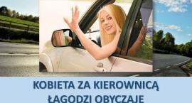 KPP Ciechanów: Kobieta za kierownicą łagodzi obyczaje