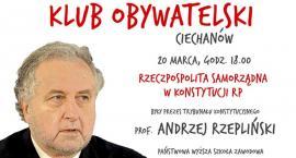 W Ciechanowie odbędzie się spotkanie z prof. Andrzejem Rzeplińskim