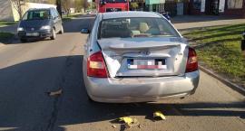 Mieszkanka Ciechanowa poszkodowana w wypadku na ul. Batalionów Chłopskich [zdjęcia]