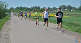 Prawie 200 biegaczy pokonało trasę z Ciechanowa do Opinogóry [zdjęcia]