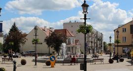Kwiaty i zieleń w centrum Ciechanowa [zdjęcia]