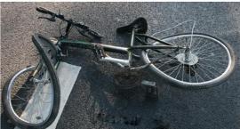 Rowerzysta potrącony w centrum Ciechanowa