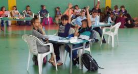 Uczniowie z Ciechanowa wzięli udział w Miejskiej Olimpiadzie Językowej [zdjęcia]