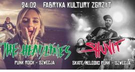 The Headlines i Shuvit  ze Szwecji w Zgrzycie