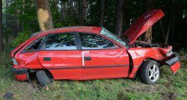 U sąsiadów: Cztery osoby ranne po wypadku Opla