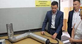 Jawar zaprezentował najnowsze badania nad opracowaniem innowacyjnego komina [zdjęcia]
