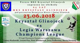 Piłkarskie święto w Glinojecku. Kryształ zagra z legendami Legii Warszawa