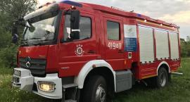 Pożar mieszkania w Glinojecku
