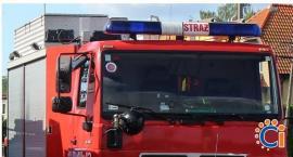 Alarm pożarowy w DPS-ie i poszukiwania łuny